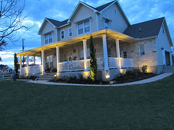 Residential Landscape Lighting in Austin TX