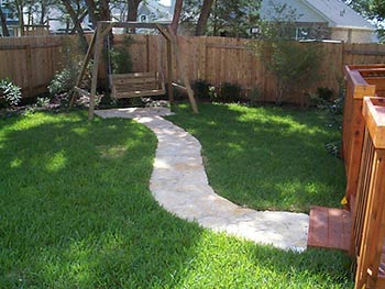 austin landscaping project - after
