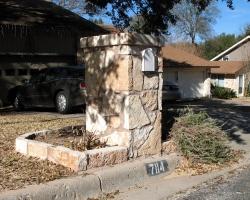 Custom Stone Mailbox
