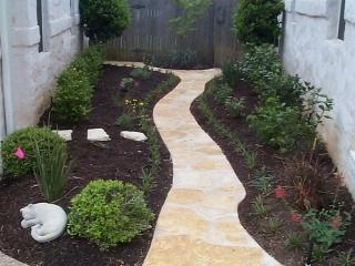limestone accent path