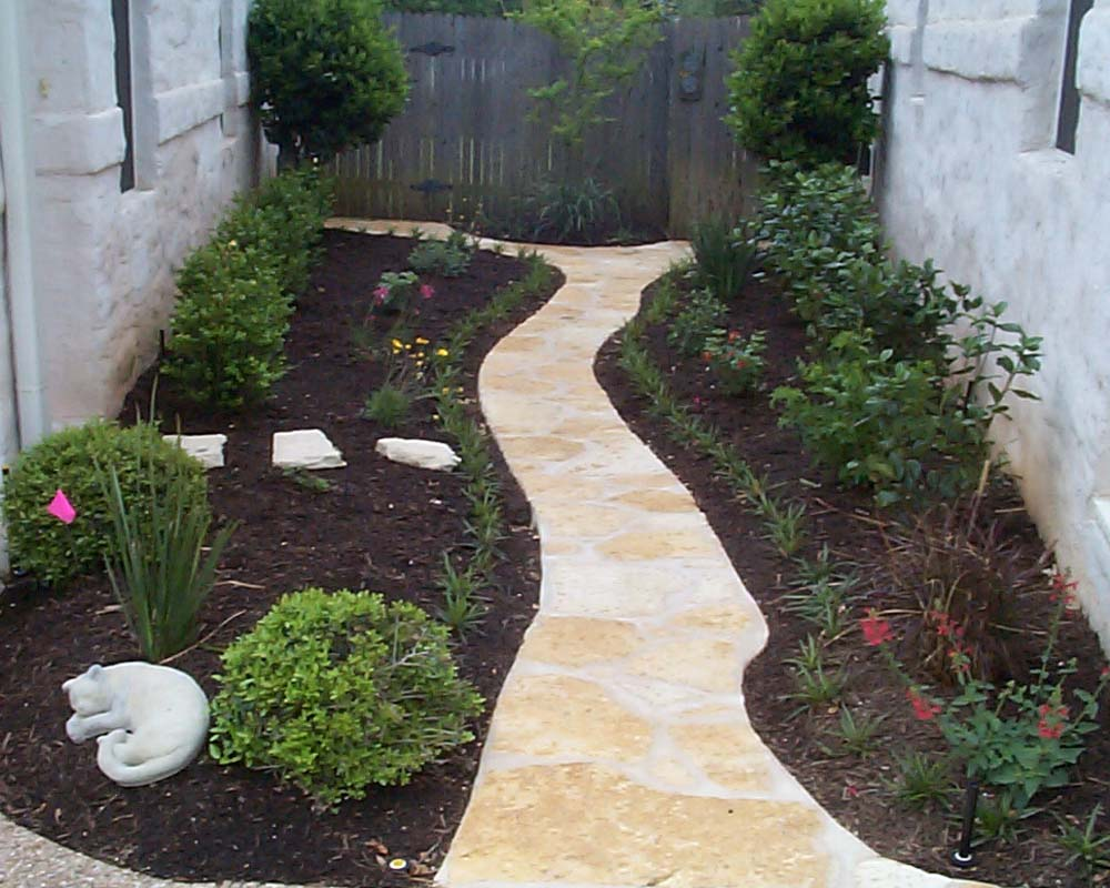 limestone accent path