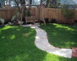 limestone path