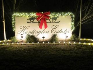 Huntington Estates sign