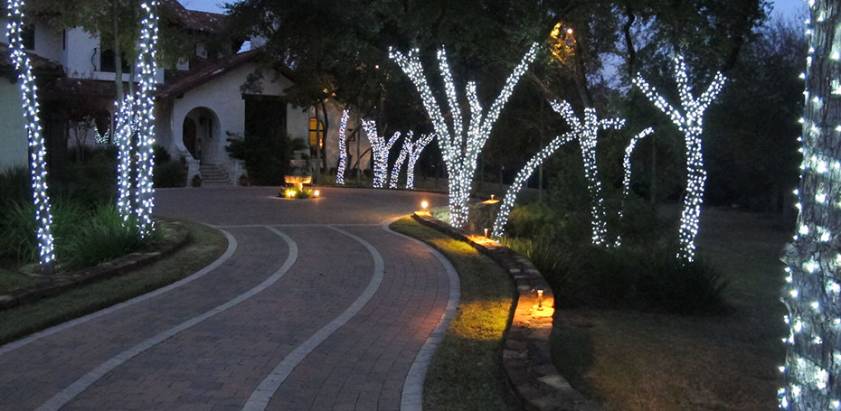 Holiday Tree Wrapping Amp Lighting Plantscape Solutions Of