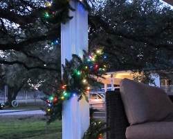 Multi Color LED Garland