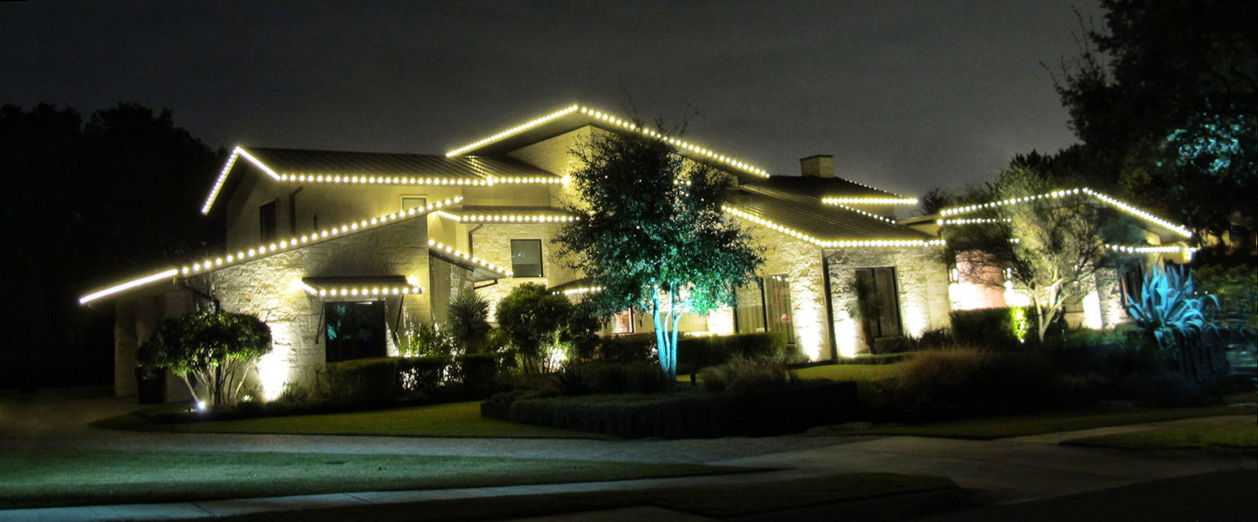 austin, tx christmas lighting installation