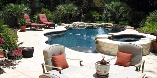 poolscape design