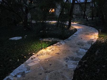 pathway landscape lights austin tx