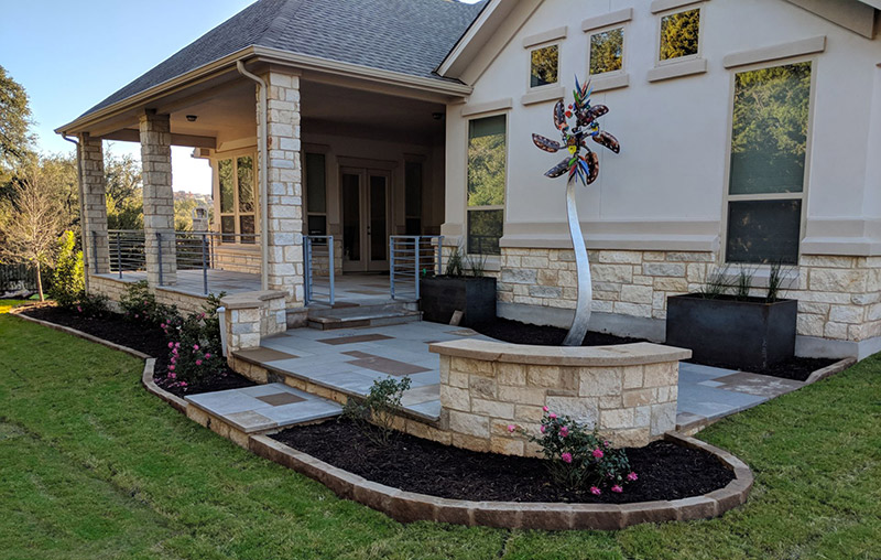 after patio redesign austin tx